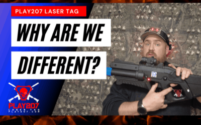 A New Style of Laser Tag with Play207!